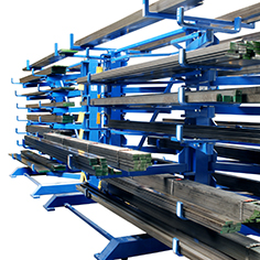 Swing-Arm Cantilever Storage Racking
